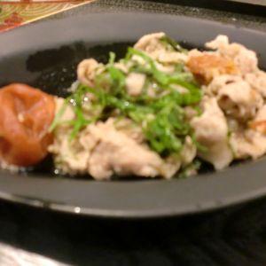 豚肉の梅干し煮