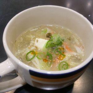 サンラータン風はるさめスープ
