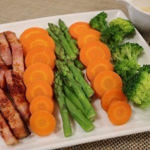 温野菜サラダ♪みそクリーム添え