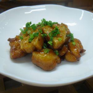 鶏肉とれんこんの甘辛煮