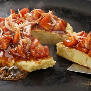 ジャガチーズお好み焼き