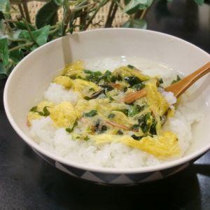 朝ごはんに!簡単スープごはん