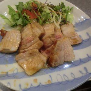 レンジで簡単煮豚