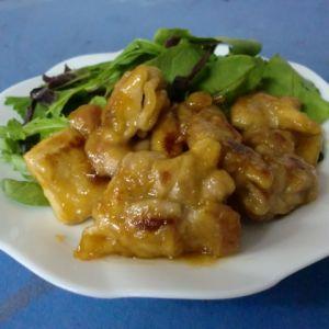鶏肉!カンタン酢で甘酢照り焼き