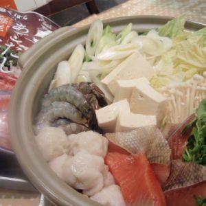 あごだし海鮮寄せ鍋☆味噌