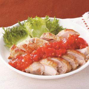 鶏肉のソテー トマトソース