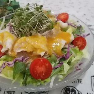 錦雲豚の冷しゃぶサラダ