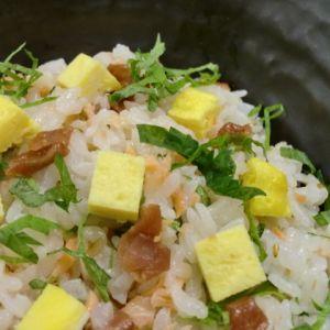乳和食 鮭のミルクちらし寿司