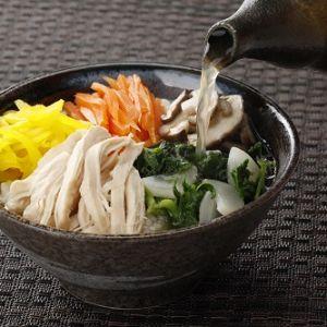 七草で和風鶏飯