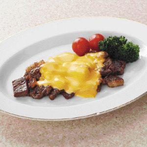 チーズonステーキ