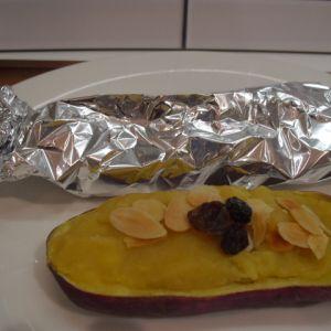 スイートポテト風焼き芋