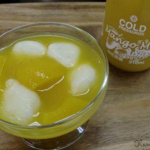 豆腐白玉のマンゴーポンチ