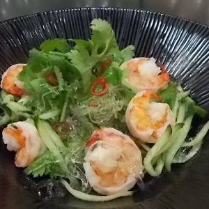 タイ風 ちゅるりんパクチーサラダ