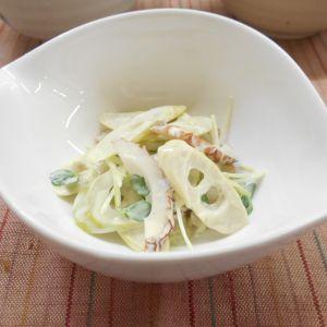四方竹の和風サラダ