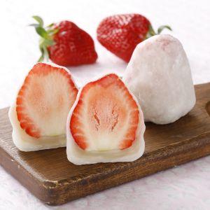 白玉粉で簡単 いちご大福