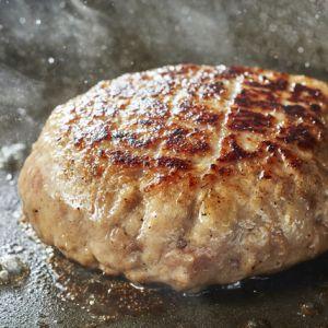 麦豚粗挽きハンバーグ おいしい焼き方