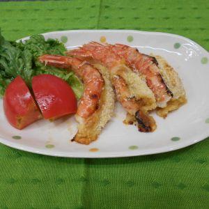 赤海老の味噌マヨチーズ