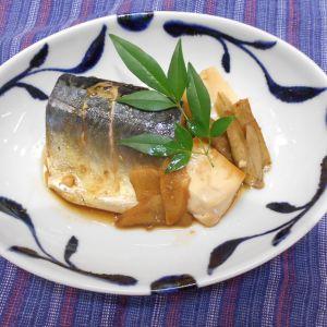 鯖と豆腐の煮付け