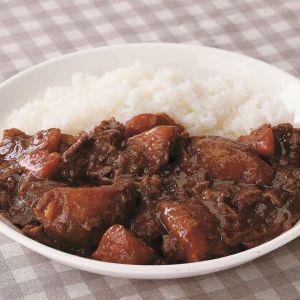 窪川牛切り落し肉で ワンプロキッチンカレー