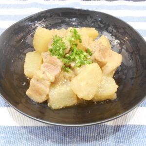 冬瓜と豚バラのみそ煮