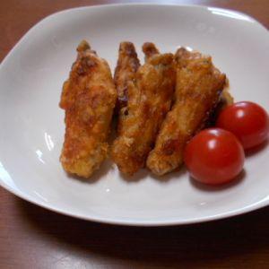 キムチの素で  鶏肉のぴり辛焼き