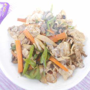 プチっと鍋つゆで簡単野菜炒め