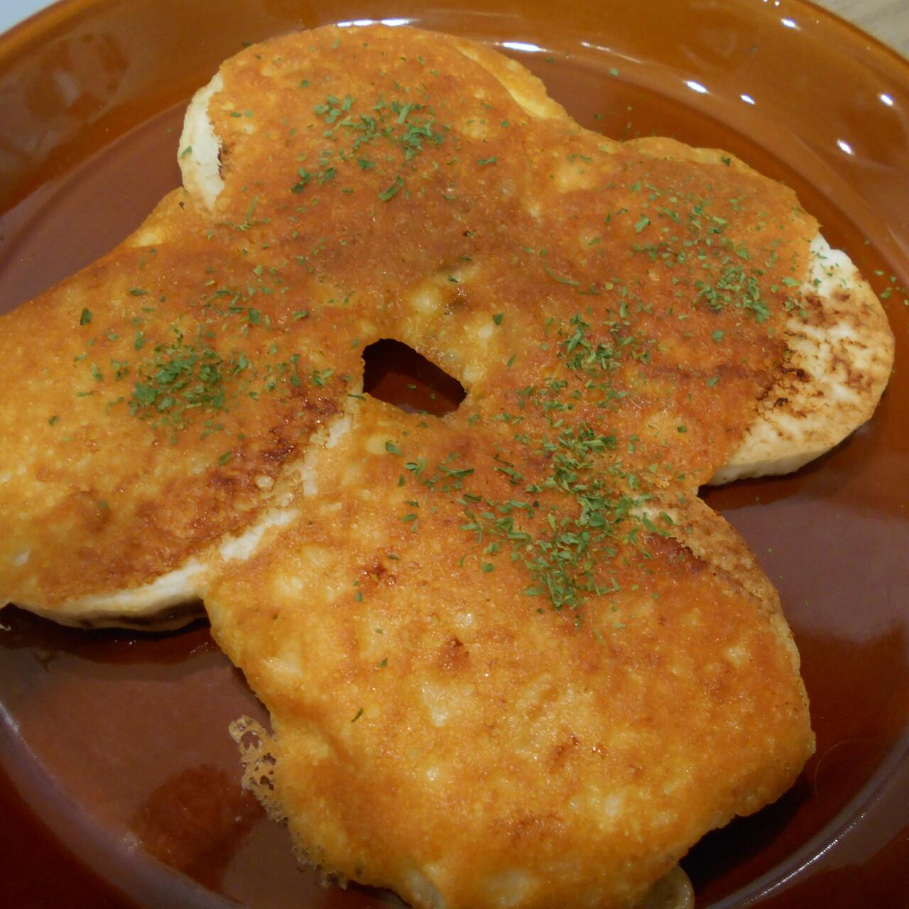 カリカリチーズ焼き(長芋)(レンコン)